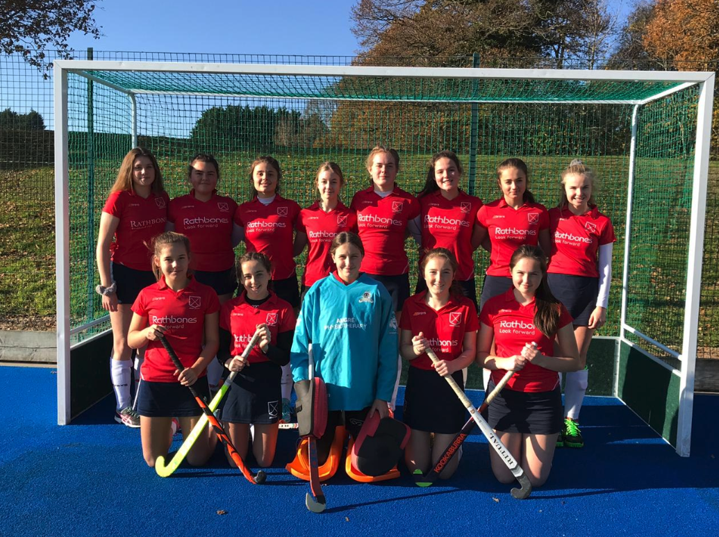 Double victory for U16s girls in England Hockey Championships