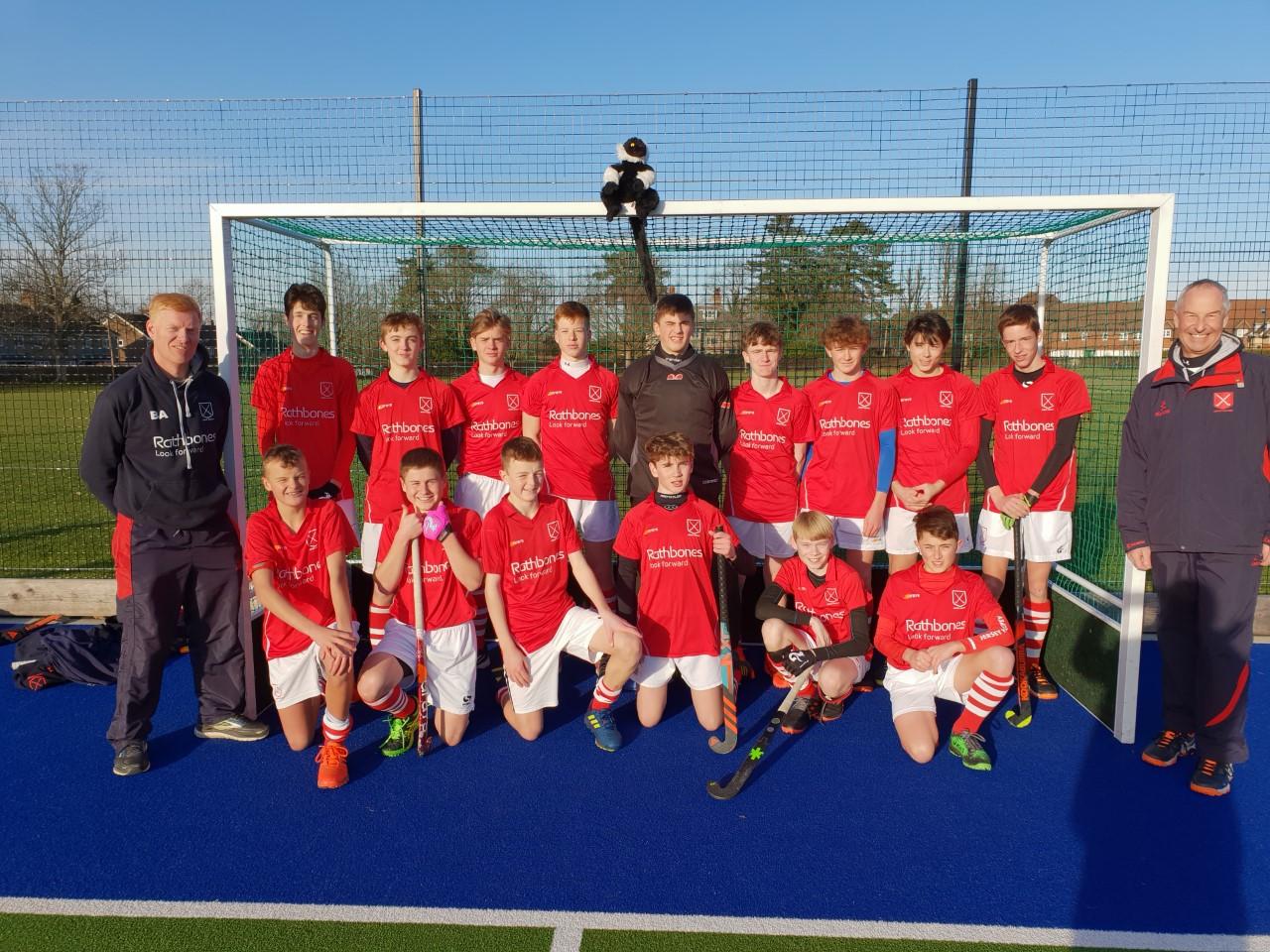 Boys U16s  EH Junior Championships Jersey v Horsham
